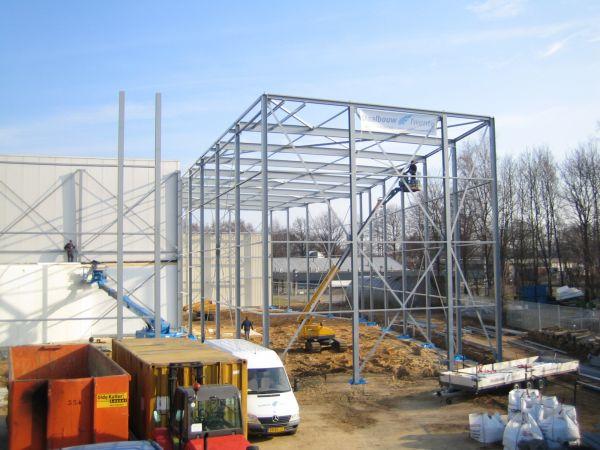Nieuwbouw vrieshuis Pré Pain te Oldenzaal