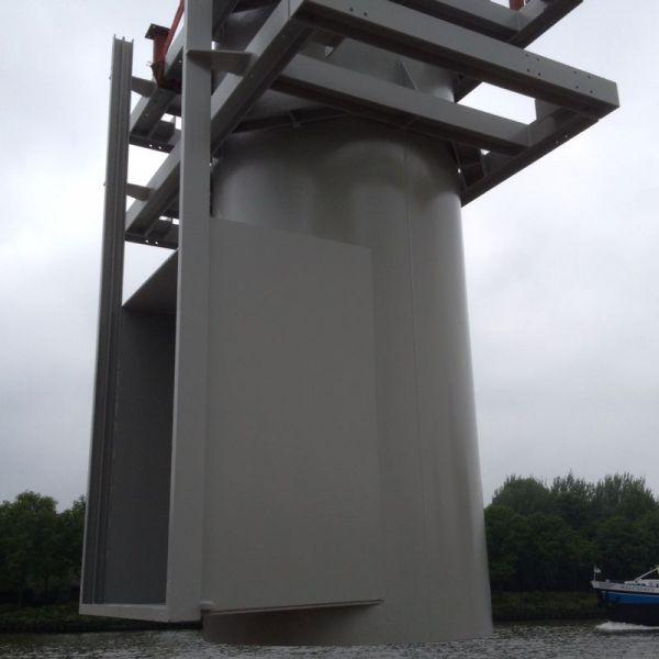 Aanzuigbuis tbv bluswater bij Argos te Utrecht